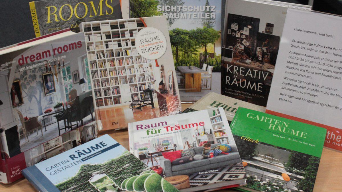 Büchertisch – Räume gestalten und Ideen Raum geben