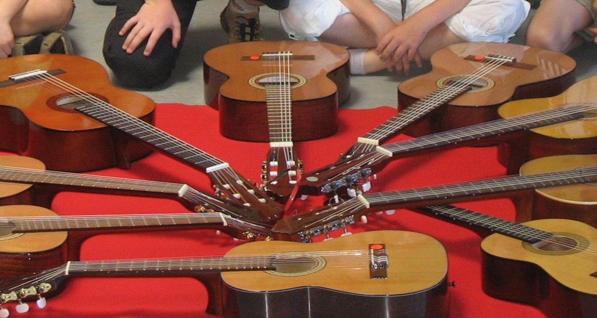 Abschlusskonzert der Gitarrenwoche